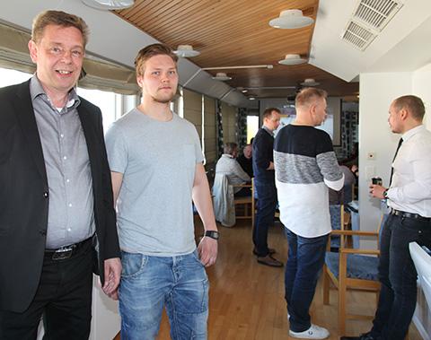 Markki Kivilähde ja Oskari Martikainen