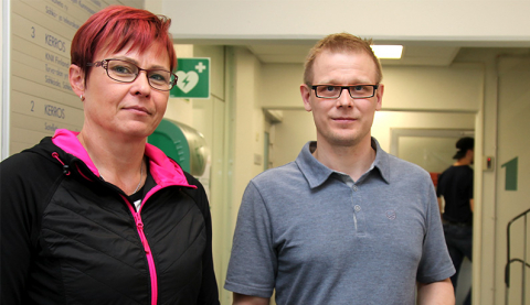 Anne Liukkonen ja Petri Pajala